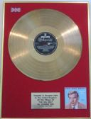 JOHNNIE RAY  -24 Carat Gold Disc LP - THE BIG BEAT